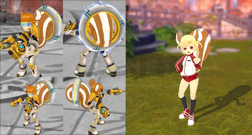 ArpieL(アルピエル) プレイアブルキャラ『ルー』の武器製作、体育着コスチュームスクリーンショット
