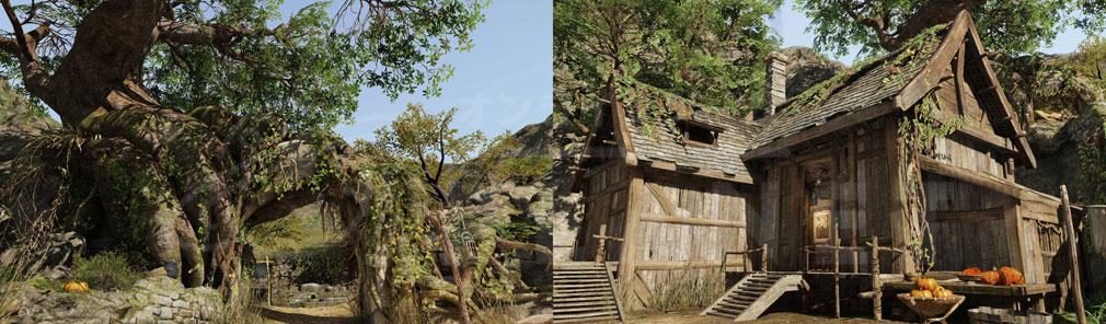 BLESS(ブレス) 日本 CBT2ハビヒッツ族の物語が始まる『エルトン村』スクリーンショット
