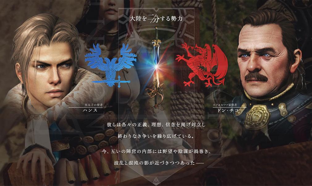 BLESS(ブレス) 日本 CBT2『神聖同盟ハイロン(HIERON)』の重要なキャラ【ハンス】