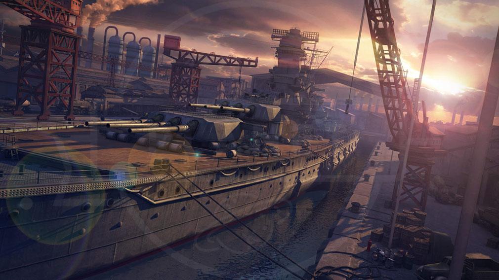 真・戦艦帝国 PC 世界観スクリーンショット