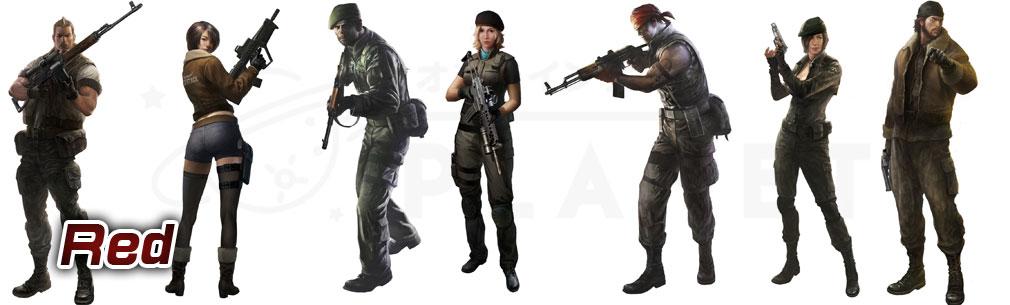 サドンアタック(SUDDEN ATTACK) SA1 Rebel Troops/レッドチーム