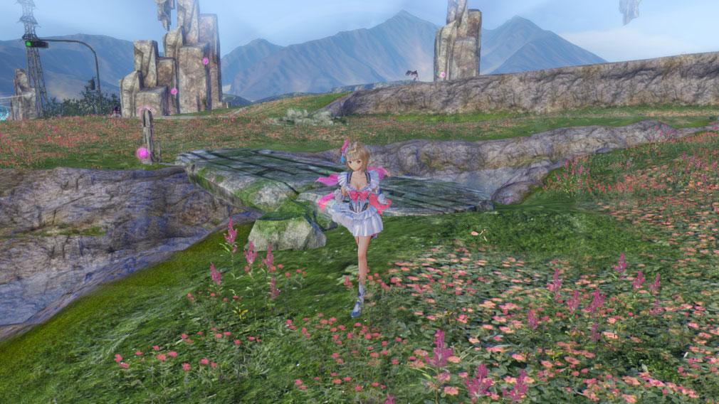 BLUE REFLECTION(ブルーリフレクション) 幻に舞う少女の剣 PC ファンタジー異世界スクリーンショット