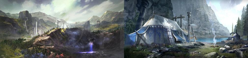 AxE Alliance X Empire(アックス) フィールド『燃える高原』イメージ