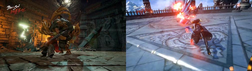 ブレイドアンドソウル レボリューション(Blade&Soul Revolution) バトルスクリーンショット