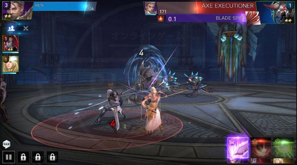 AION Legions of War (アイオン レギオンズ オブ ウォー) 『魔族』と『天族』が同じパーティーメンバーとして共に戦うスクリーンショット