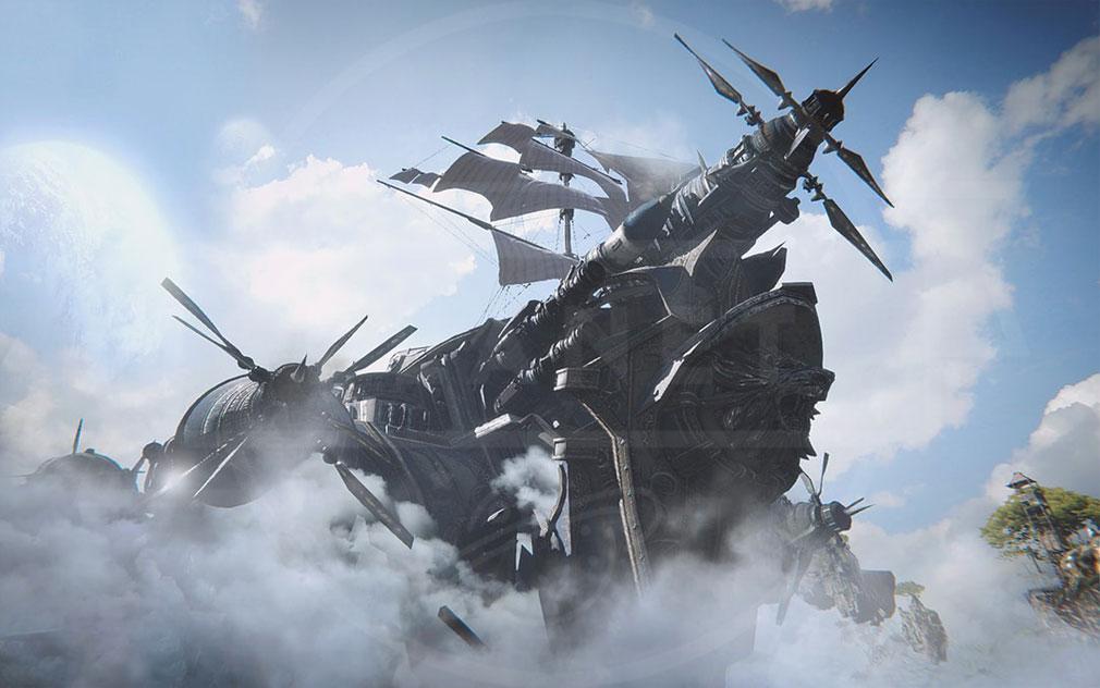 AIR(A:IR Ascent:Infinite Realm) エアー 大規模飛行艦隊イメージ