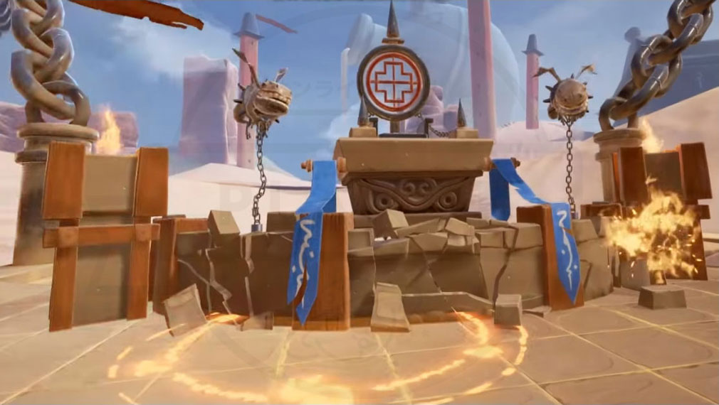 Blade&Soul Table Arena (ブレイドアンドソウルテーブルアリーナ) 対戦相手陣営攻撃スクリーンショット