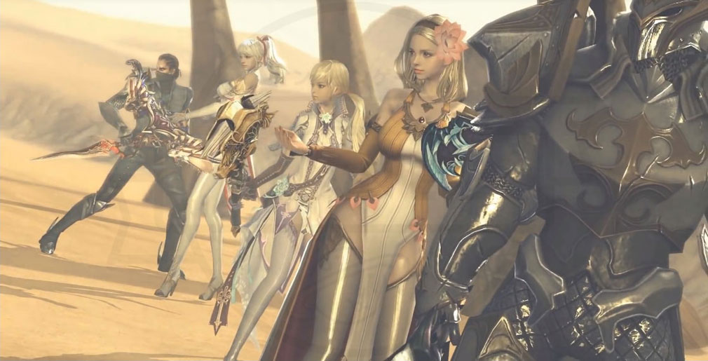 AION Legions of War (アイオン レギオンズ オブ ウォー) キャラクターグラフィックス画像