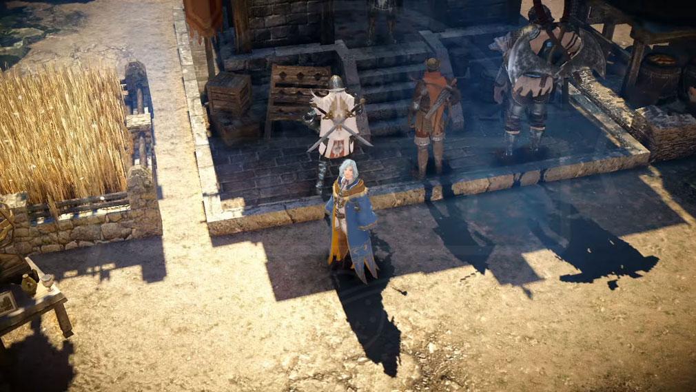 黒い砂漠 MOBILE 施設モードスクリーンショット