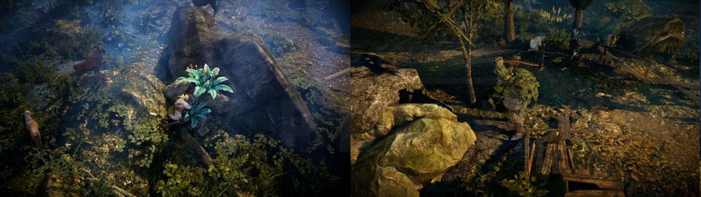 黒い砂漠 MOBILE 生活系コンテンツ『採鉱』、『採集』スクリーンショット