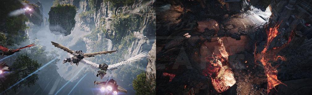 AIR(A:IR Ascent:Infinite Realm) エアー日本 飛行、要塞スクリーンショット