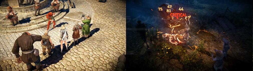 黒い砂漠 MOBILE フィールド、バトルクオリティの高いスクリーンショット