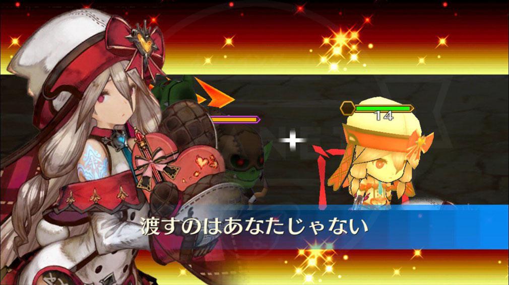 チェインクロニクル3 (チェンクロ) PC キャラクターアビリティ発動画面スクリーンショット