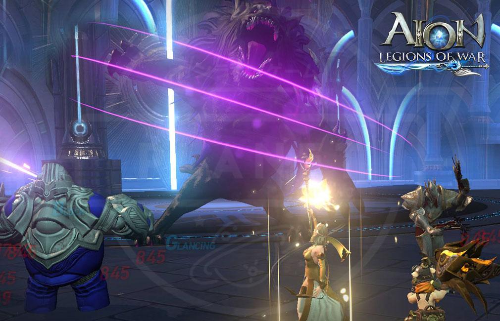 AION Legions of War (アイオン レギオンズ オブ ウォー) バトルスクリーンショット