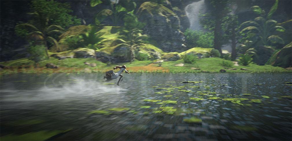 ブレイドアンドソウル レボリューション(Blade&Soul Revolution)ブレレボ 『軽功』移動システムアクションスクリーンショット