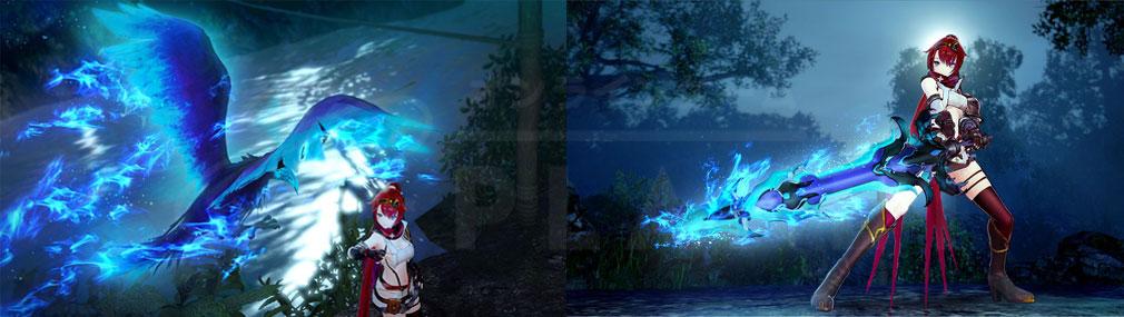 よるのないくに2 新月の花嫁 PC 従魔ストライカータイプ『エイル』の従魔武器変化スクリーンショット