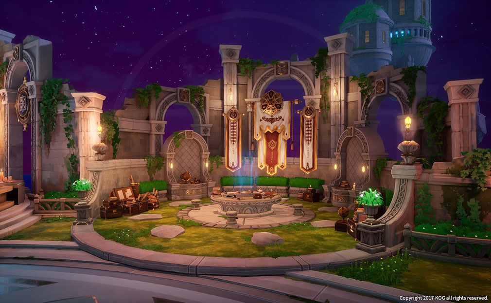 KurtzPel (カーツペル) 『チェイスアジト』原画のゲーム内実装スクリーンショット