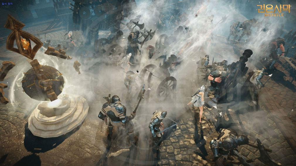 黒い砂漠 MOBILE 大規模戦争『占領戦』スクリーンショット