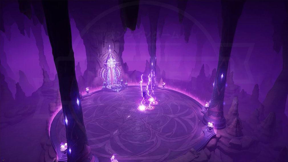 KurtzPel (カーツペル) 『魔獣の洞窟(Caverns of Beast)』のゲーム内実装スクリーンショット