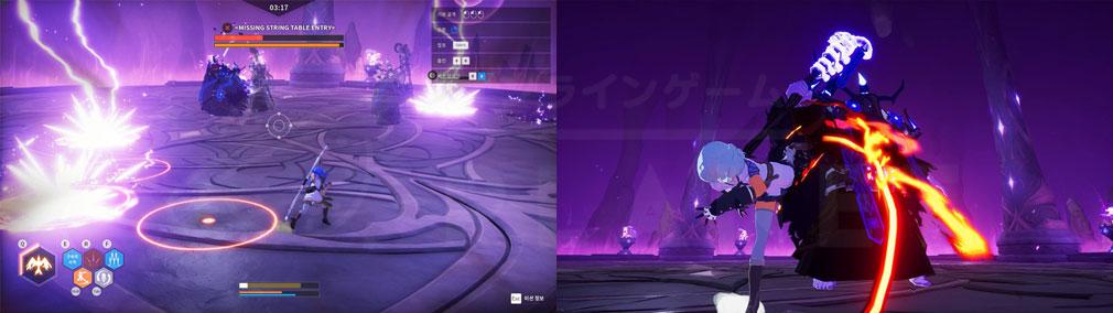 KurtzPel (カーツペル) 『魔獣の洞窟(Caverns of Beast)』のプレイスクリーンショット
