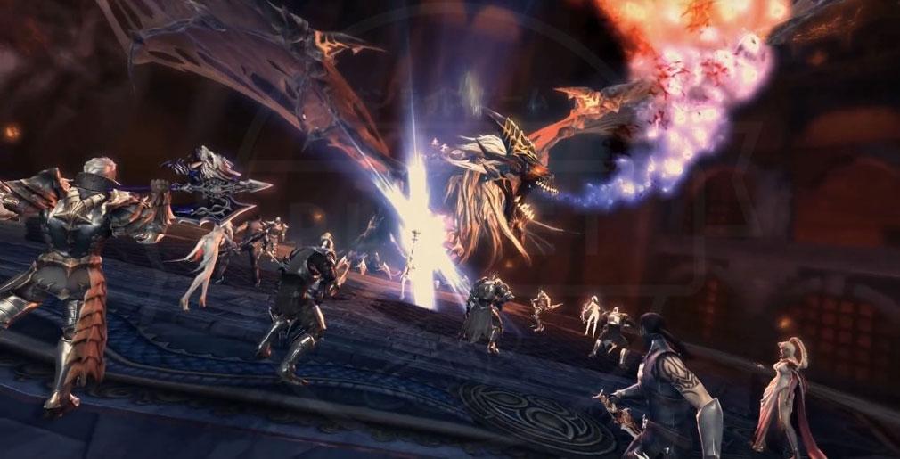 AION Legions of War (アイオン レギオンズ オブ ウォー) レイドボスバトルイメージ画像