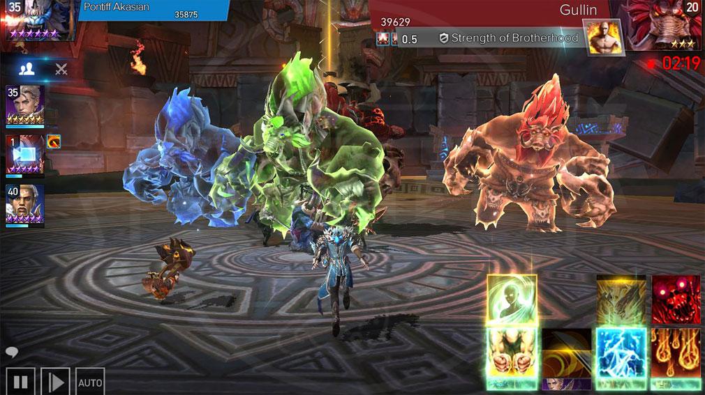 AION Legions of War (アイオン レギオンズ オブ ウォー) バトルプレイスクリーンショット