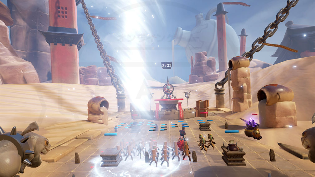 Blade&Soul Table Arena (ブレイドアンドソウルテーブルアリーナ) バトルスクリーンショット