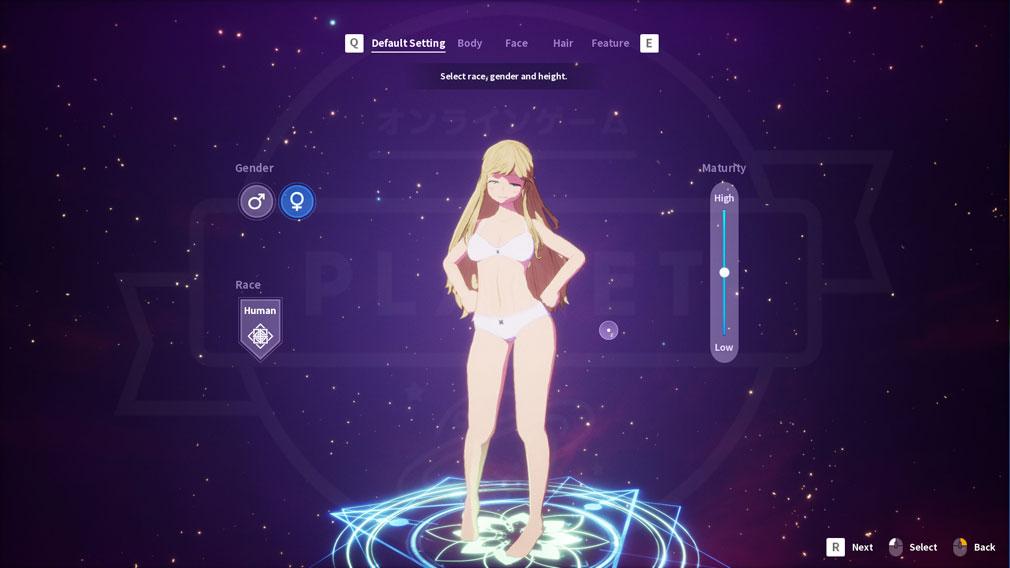 KurtzPel (カーツペル) 英語版キャラクタークリエイトスクリーンショット