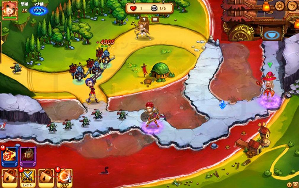 Road of Kingdom(ロードオブキングダム)ROK 戦略ブラウザシミュレーション 様々なスキルが登場するスクリーンショット