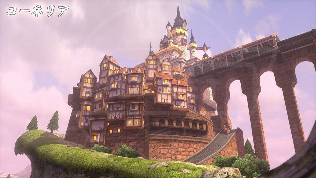 World of Final Fantasy Steam (ワールドFF) WOFF エリア『コーネリア』スクリーンショット
