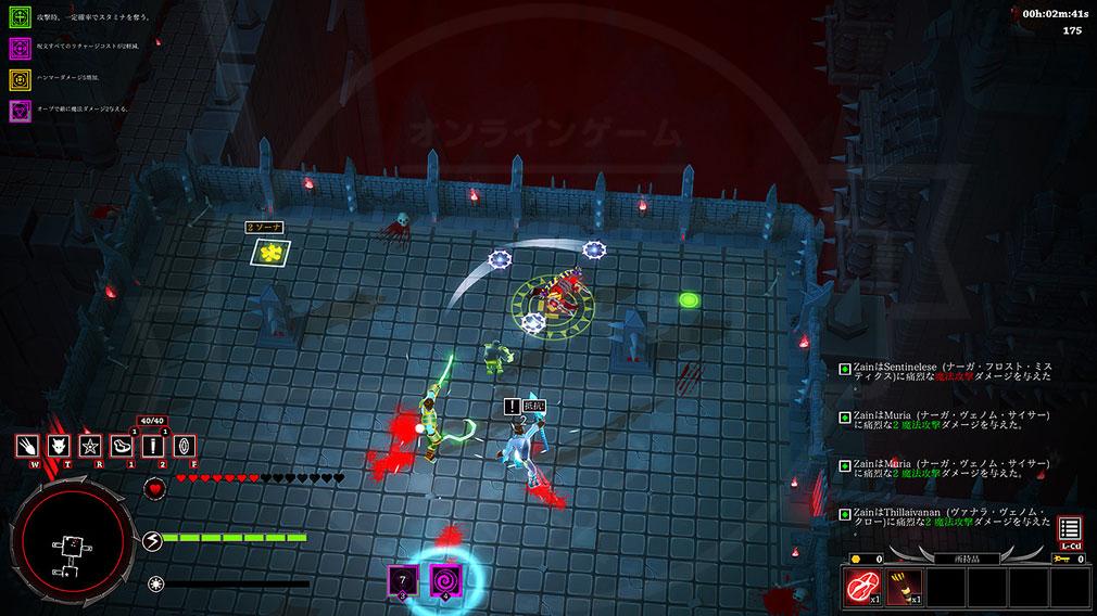 アシュラ(ASURA) ユニークな敵とのハクスラアクションバトルスクリーンショット