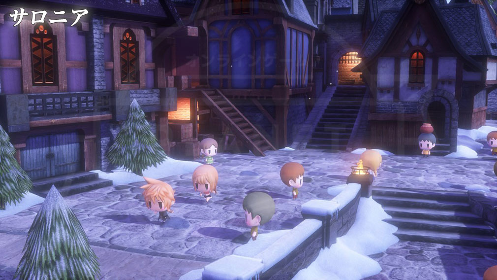World of Final Fantasy Steam (ワールドFF) WOFF エリア『サロニア』スクリーンショット