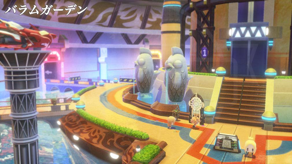 World of Final Fantasy Steam (ワールドFF) WOFF エリア『バラムガーデン』スクリーンショット