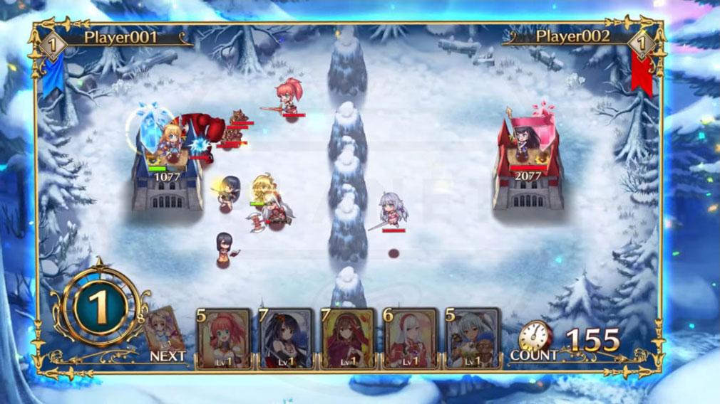 剣と幻想のアカデミア(剣アカ) PC バトルスクリーンショット