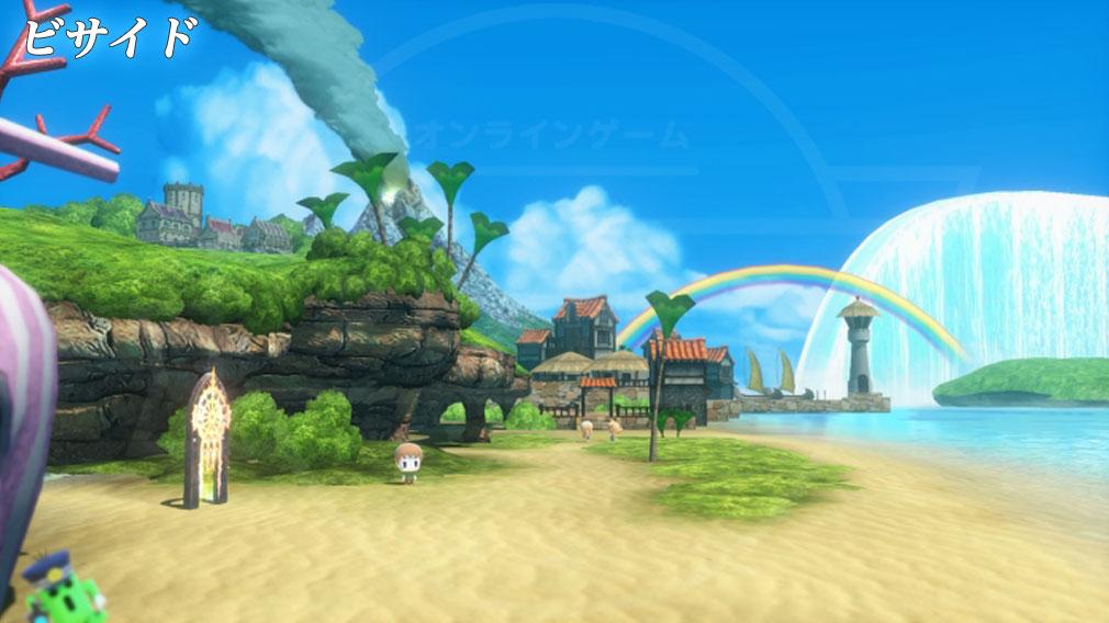World of Final Fantasy Steam (ワールドFF) WOFF エリア『ビサイド』スクリーンショット