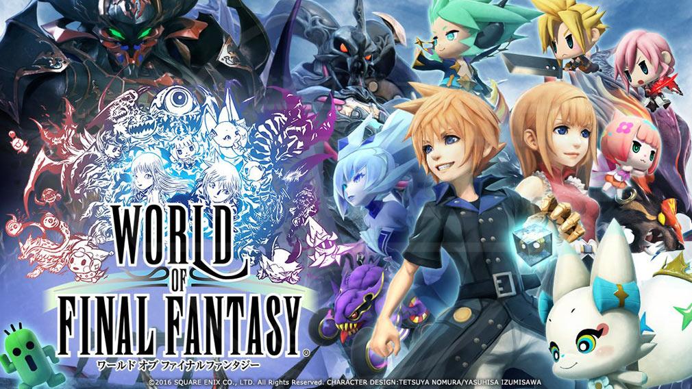 World of Final Fantasy Steam (ワールドFF) WOFF メインイメージ