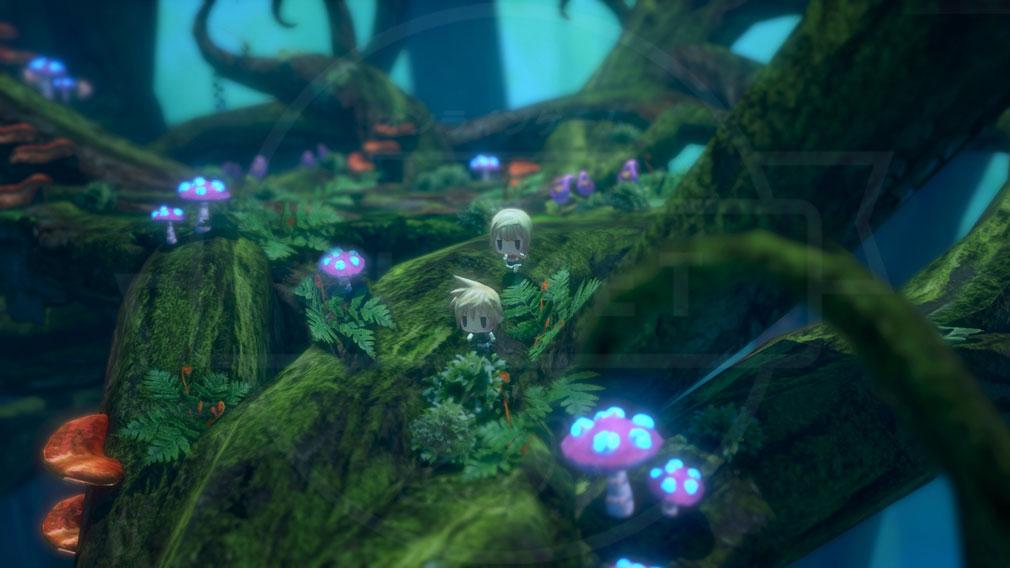 World of Final Fantasy Steam (ワールドFF) WOFF エリアをトコトコするスクリーンショット