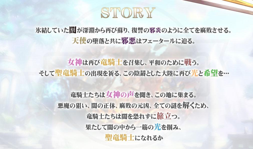 騎士と翼のフロンティア 物語イメージ