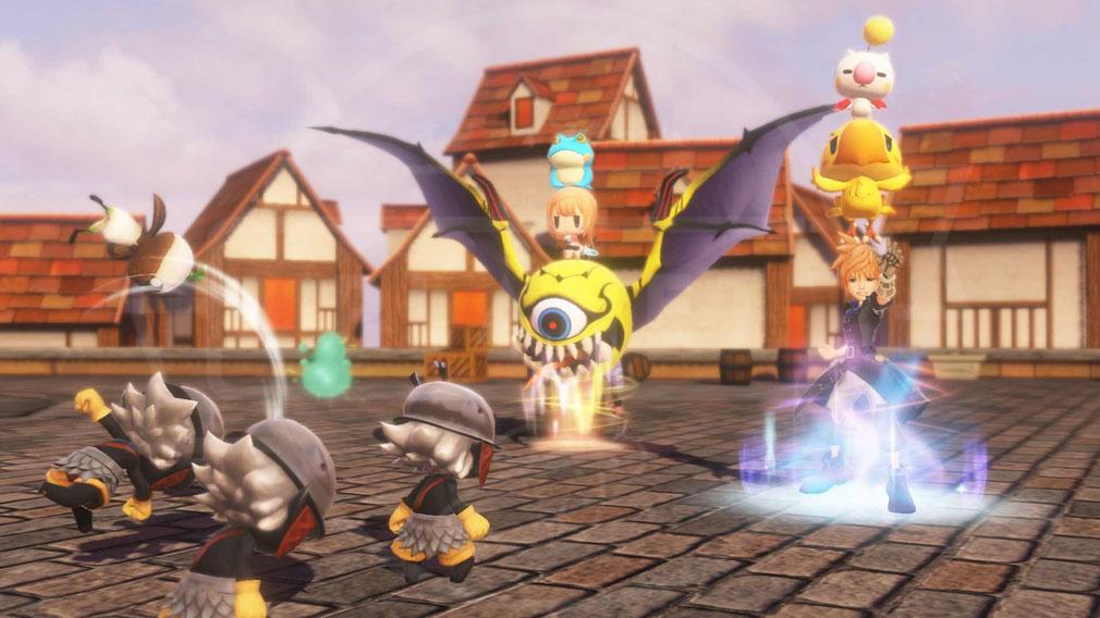 World of Final Fantasy Steam (ワールドFF) WOFF 【ノセノセ】スクリーンショット