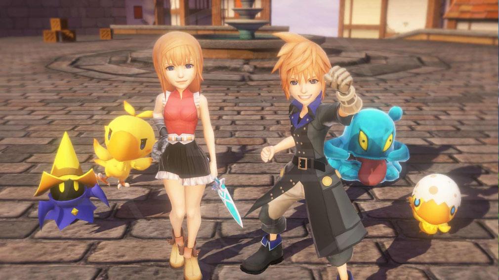 World of Final Fantasy Steam (ワールドFF) WOFF 通常サイズの『オオビト』サイズスクリーンショット