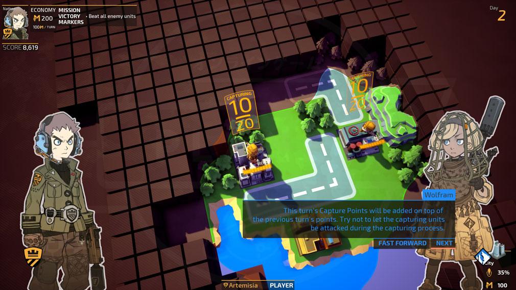 TINY METAL(タイニーメタル) PC 英語版プレイスクリーンショット