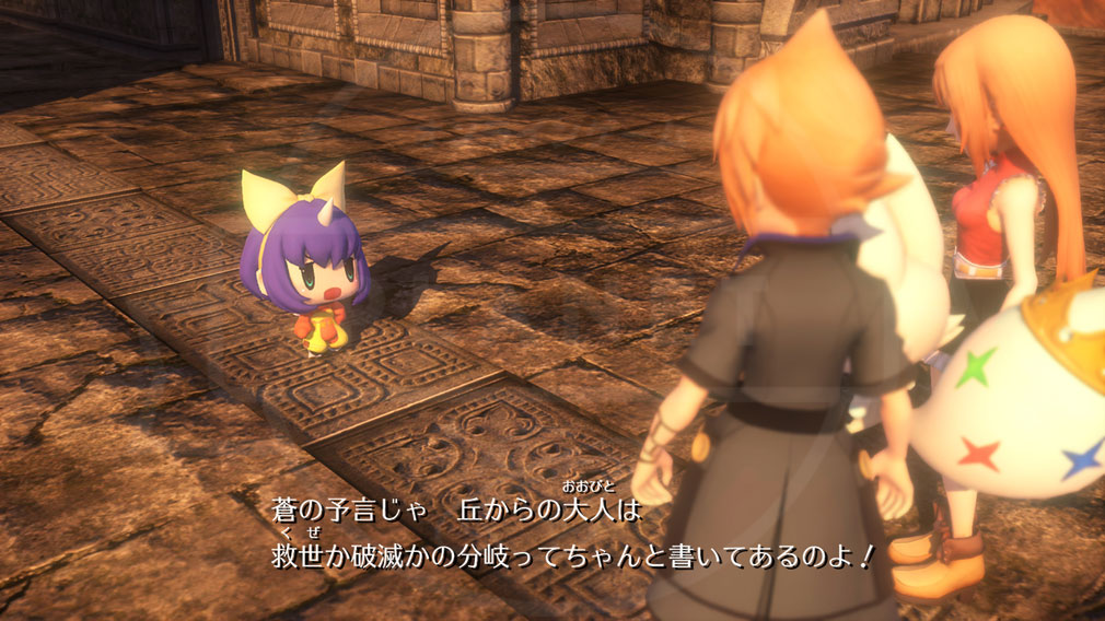 World of Final Fantasy Steam (ワールドFF) WOFF 召喚士エーコのサブストーリースクリーンショット
