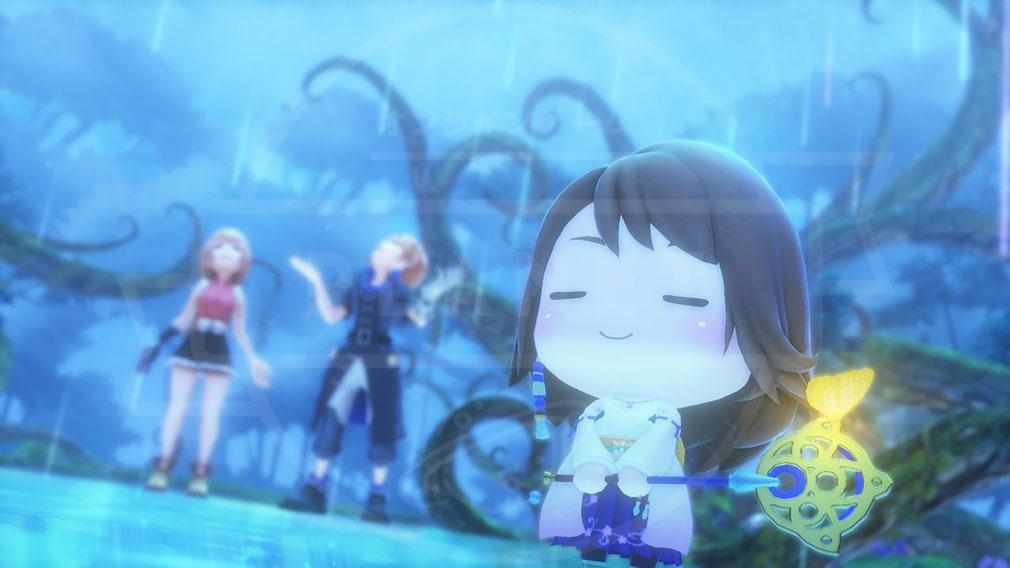 World of Final Fantasy Steam (ワールドFF) WOFF 歴代のFFキャラクターが登場しているスクリーンショット