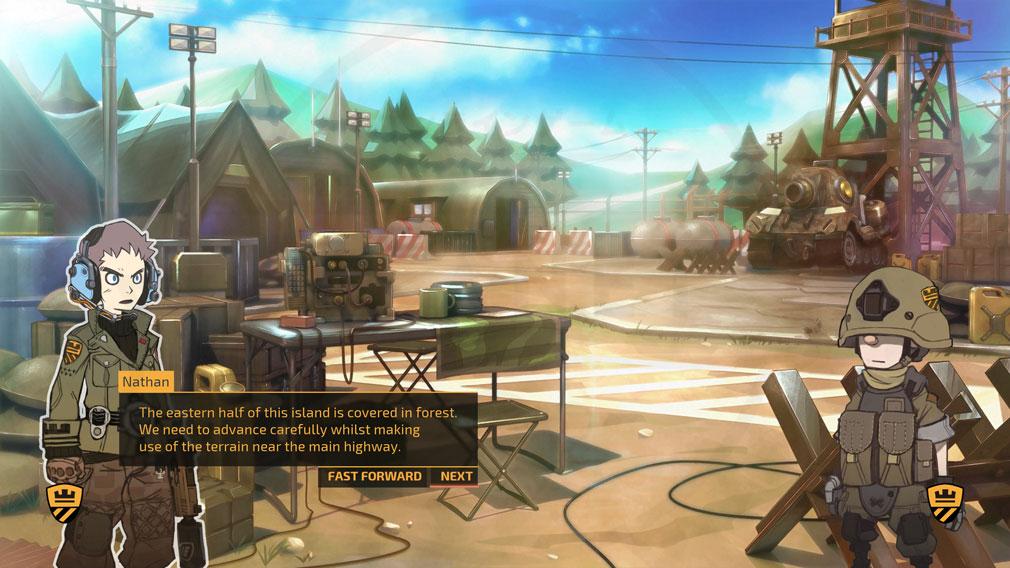 TINY METAL(タイニーメタル) PC ストーリーモードスクリーンショット