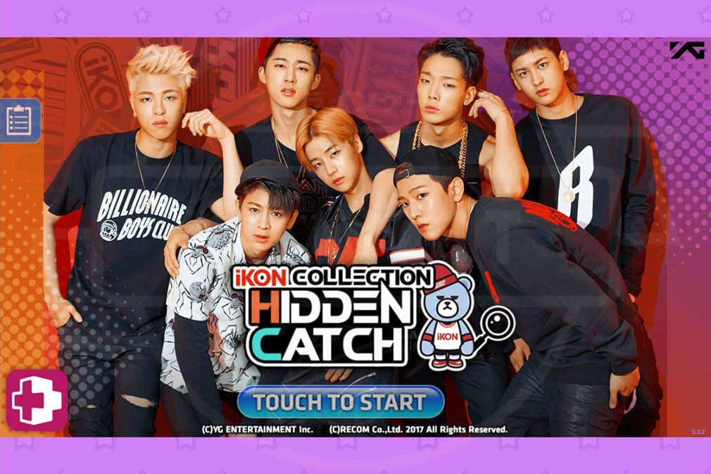 iKON COLLECTION HIDDEN CATCH PC キービジュアル