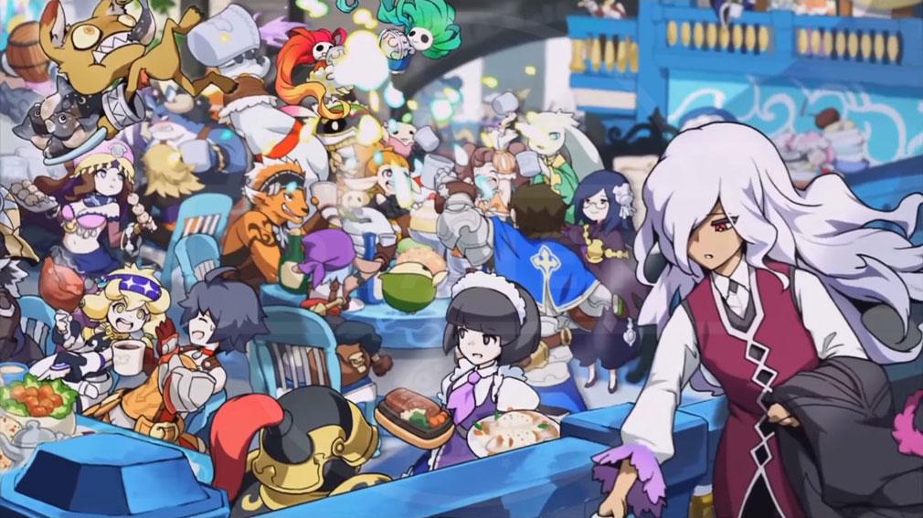 ZUNDA フクロウとよみがえる月 (ズンダ) PC 様々なキャラクターやジョブとなるロール(ポジション)イメージ