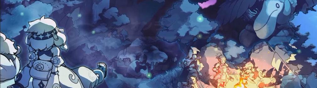 ZUNDA フクロウとよみがえる月 (ズンダ) PC フッターイメージ
