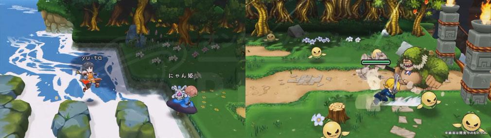 ZUNDA フクロウとよみがえる月 (ズンダ) PC チャット、バトルスクリーンショット