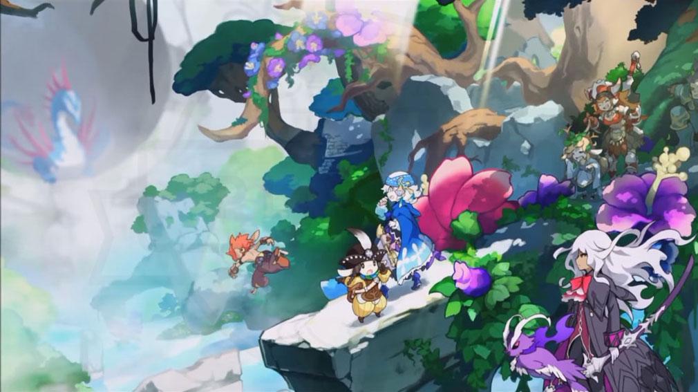 ZUNDA フクロウとよみがえる月 (ズンダ) PC 世界観キービジュアル