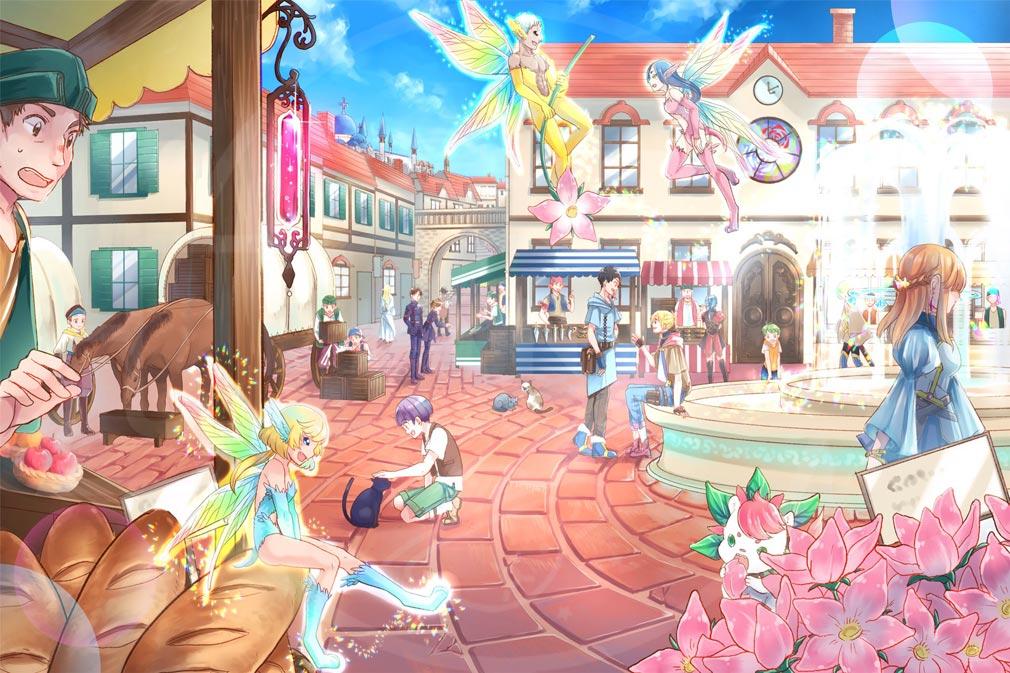 煉界のディスメソロジア ゲームの舞台イラストイメージ